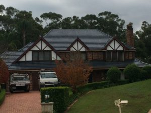 What is the process of roof restoration for your home?