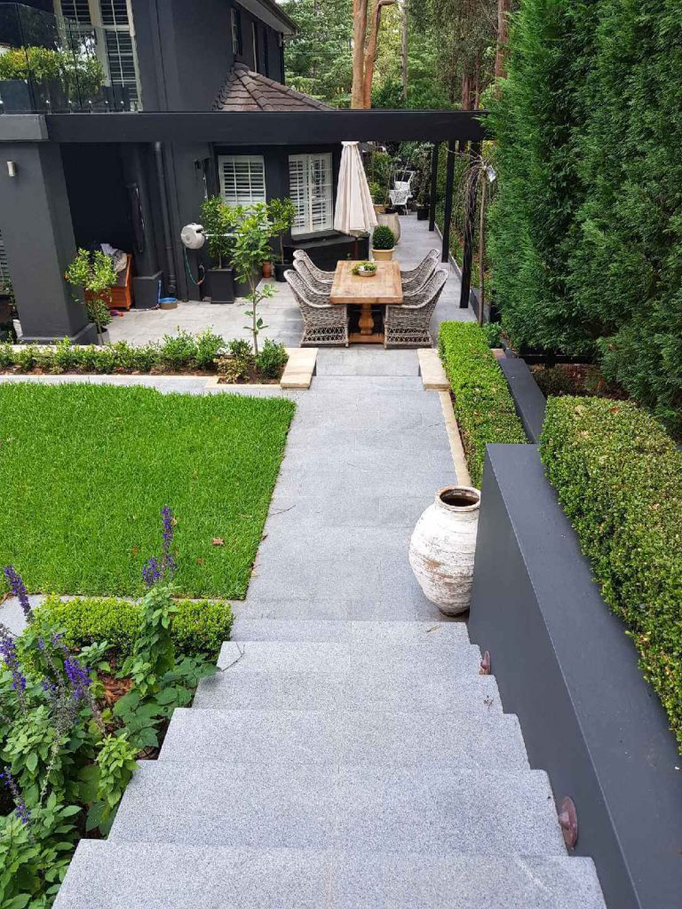 What are the elements of a beautiful landscape on your property?